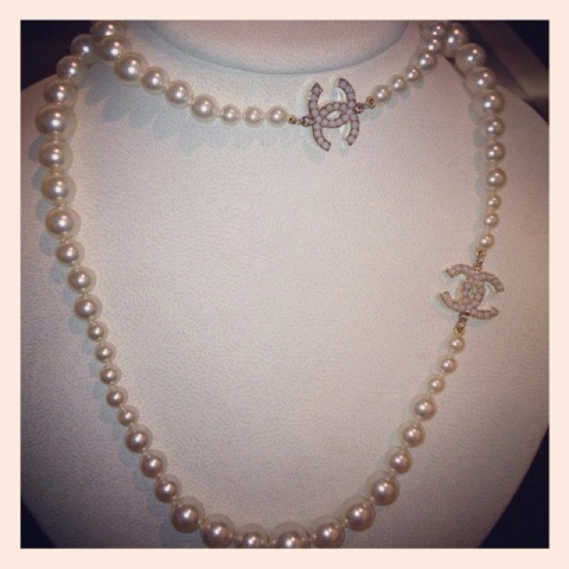 chanel pearl necklace purchases
