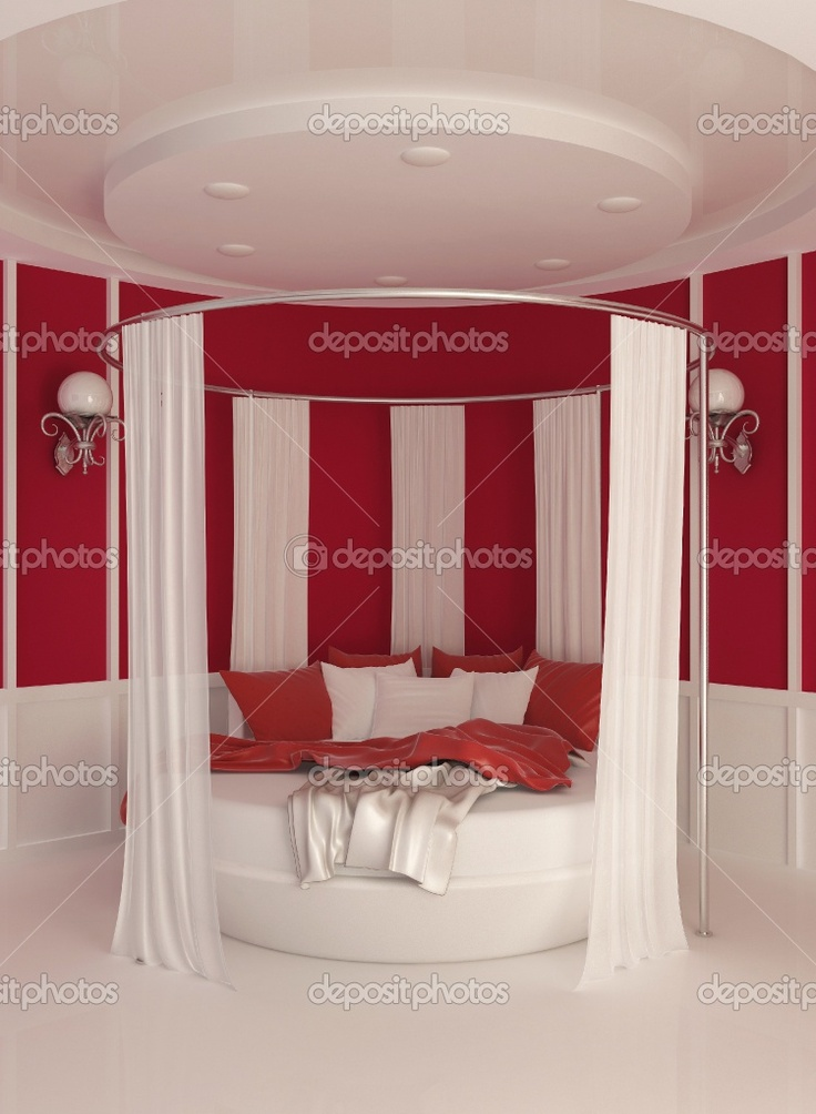 Ceiling curtain around bed bedroom pinterest