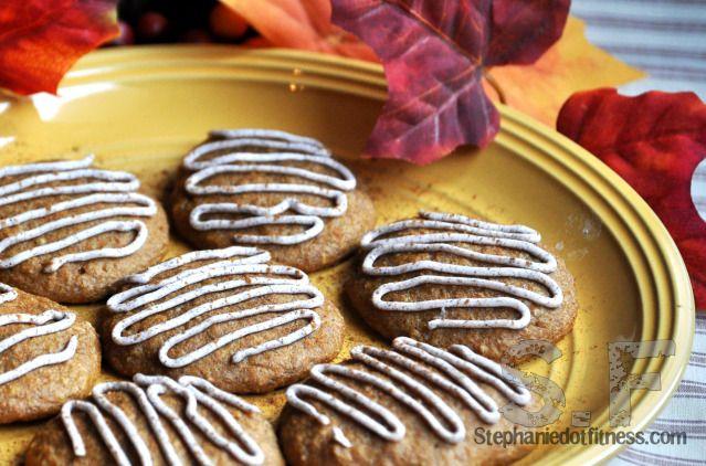 PUMPKIN PROTEIN COOKIES | cookies.muffins.cereal bars | Pinterest
