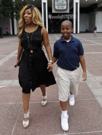 K Michelle Son Awwwwl K. Michelle & Son Chase | Everything& Everybody | Pinterest