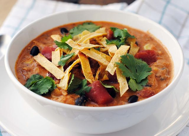that's some good cookin': Creamy Chicken Tortilla Soup