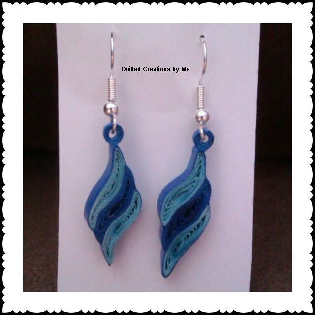 Quilling Earrings Designs Images : Quilled earrings Quilled/Paper Jewelry Pinterest