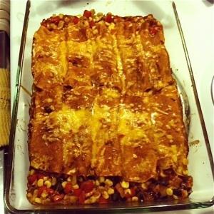 Chicken and Corn Enchiladas-9+ | Dinner | Pinterest