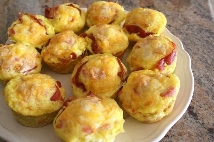 Ham, egg, and cheese muffins | Kitchen Ideas | Pinterest