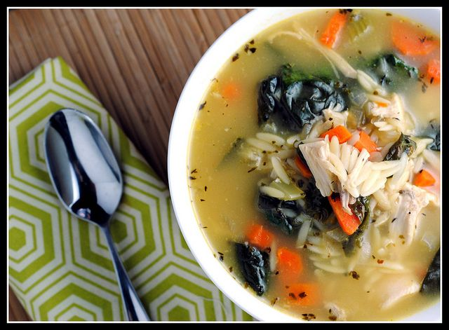 Lemon Chicken Orzo Soup | In the Kitchen - Soups, Salads and Sandwich ...