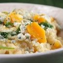 and Blue Cheese Risotto (i would probably try sage and goat cheese ...