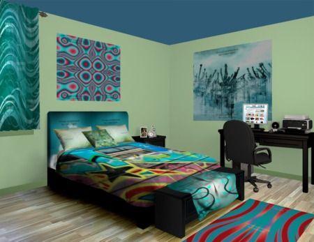 Teal talk teen bedrooms pinterest - Teal teen bedroom ...