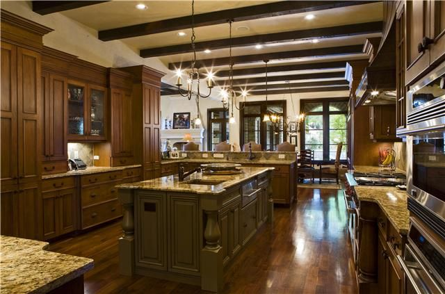 Luxury Gourmet Kitchen Dream House Pinterest