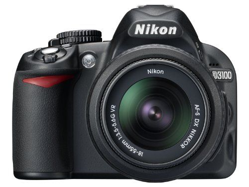 Nikon D3100 14.2MP Digital SLR Camera with 18-55mm f/3.5-5.6 AF-S DX VR Nikkor Zoom Lens $549.00