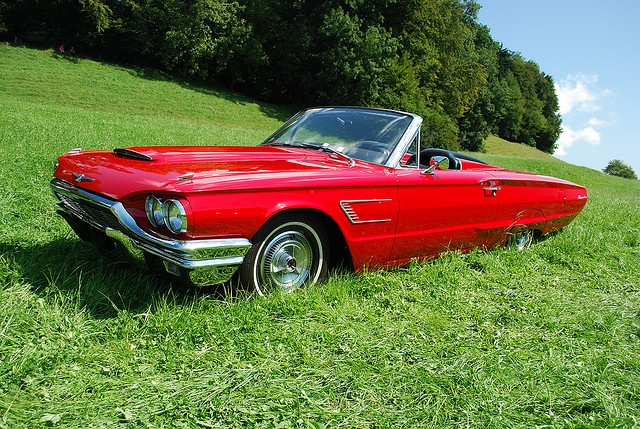 67 Ford T Bird Convertible My Love For Vintage Classic