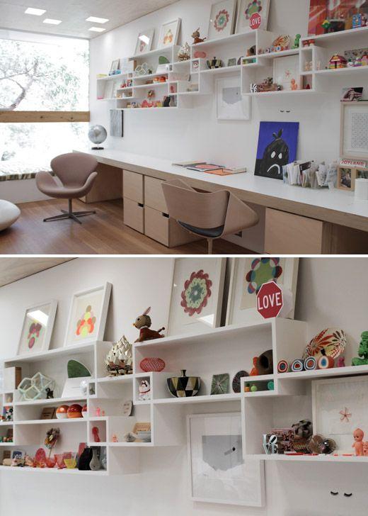 Shelves & light