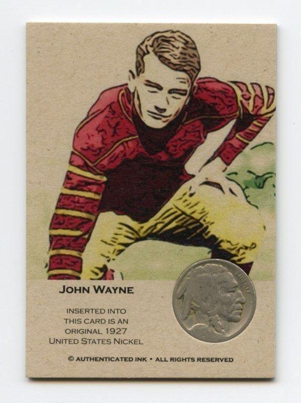 john wayne football
