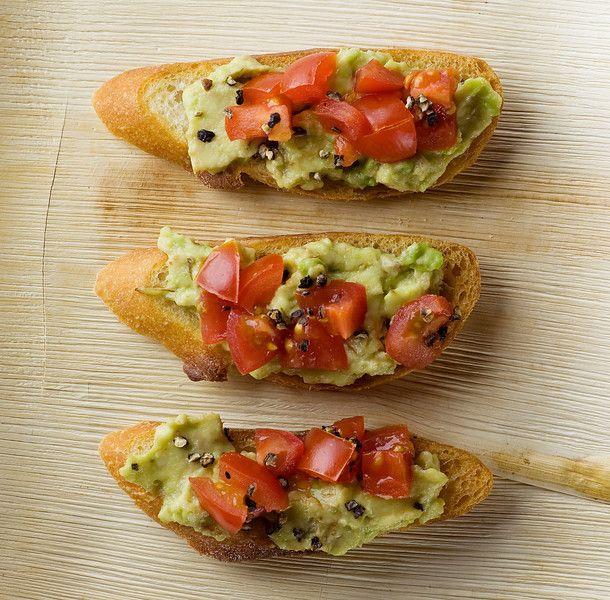 Avocado Prosciutto Crostini Recipes — Dishmaps