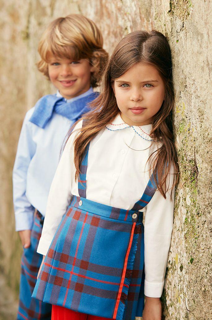 Suspender skirt school uniform suspenders for kids for Oscar de la renta childhood