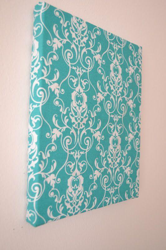 Diy Fabric Wall Art Pinterest : Diy fabric wall art make time for crafts