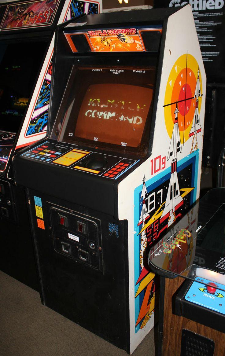Missile Command | Vintage Video Games | Pinterest