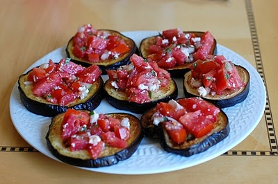 Roasted Eggplant with Tomato and Mint | Yumminess... | Pinterest