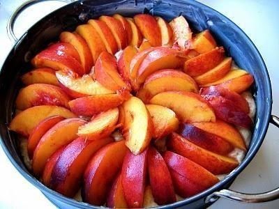 Vanilla Brown Butter Peach Buckle (blog: TheBojonGourmet:com) I made ...
