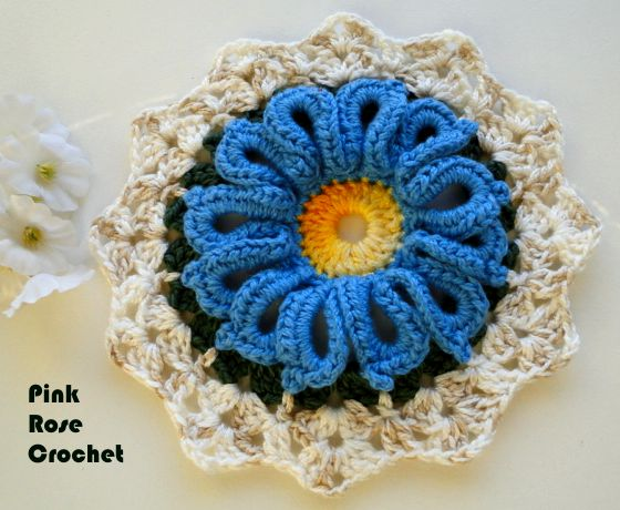 Use Crocheting In A Sentence : Mo Tejer Flores A Crochet Paso A Paso Obtendr S Tus Flores ...
