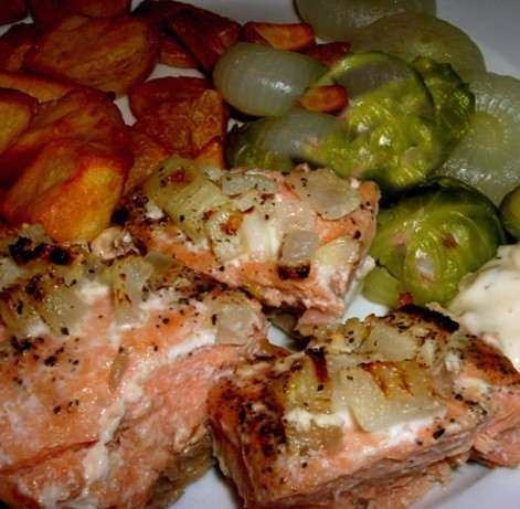 EASY GRILLED SALMON | Food and Drink | Pinterest