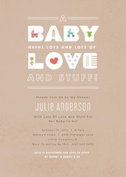 baby essentials baby shower invitations baby showers 2 pinterest