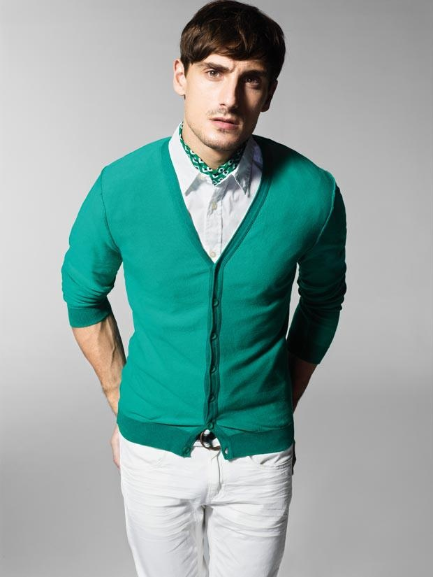 Benetton Green Cardigan  My Style  Pinterest