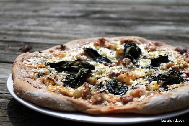 Smoked Mozzarella and Bacon Pizza | Pizza | Pinterest