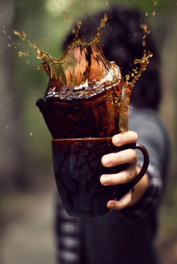 40 Stunning Coffee Splashes Pictures