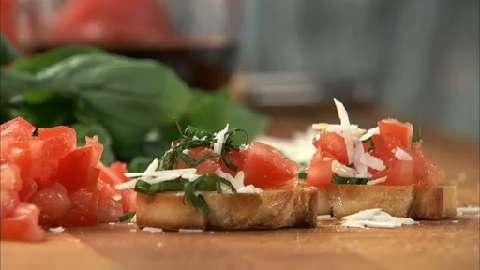 Tomato Basil Crostini Allrecipes.com | best season of all summer time ...