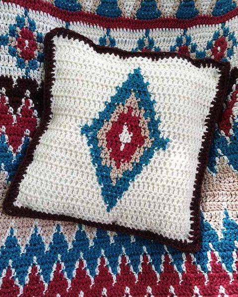 Native American Crochet Afghan Pattern Pakbit For