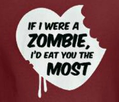 zombie valentines day ideas