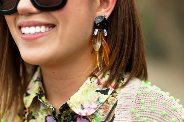 marni x hm earrings
