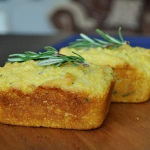 Individual Rosemary Polenta Loaves. | Favorite Recipes | Pinterest