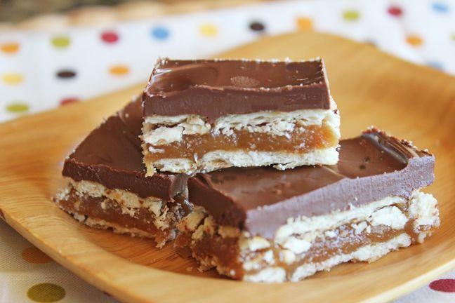 Homemade twix bars | Desserts | Pinterest
