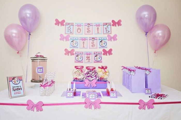 Minnie Mouse and Daisy Duck Birthday | Girl Parties ...