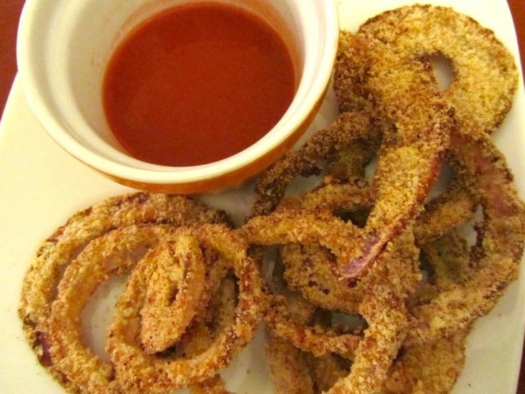 Baked Paleo Onion Rings | Paleo Kitchen | Pinterest