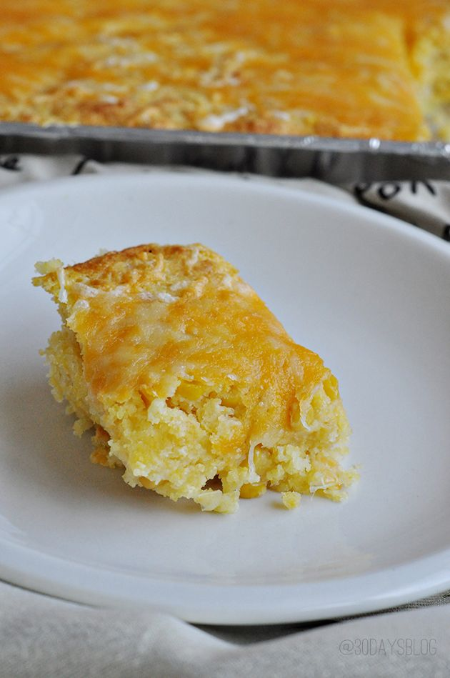 Cheesy Corn Casserole | Food & Drink | Pinterest