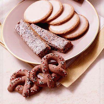 Cranberry-Pistachio Lace Cookies