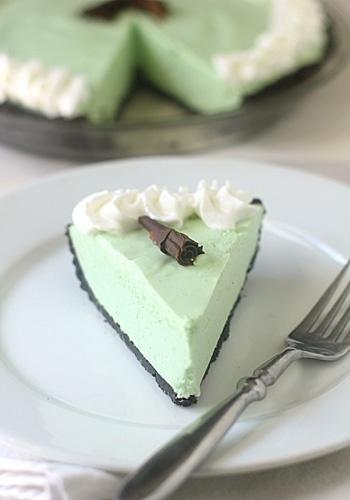 Grasshopper Pie | Food & Recipes | Pinterest