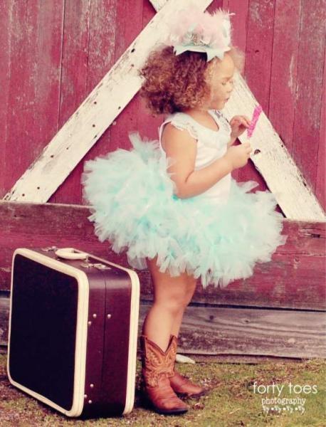 A little cowgirl, ballerina, traveler! I love her!