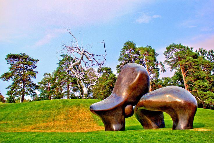 Kansas City Sculpture Park Metal Tree Sculpture