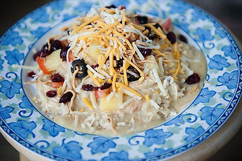 Hawaiian Haystacks (chicken and rice) | Chicken | Pinterest