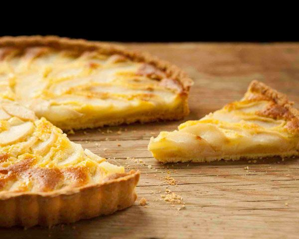 Pear and Almond Tart | Recipe