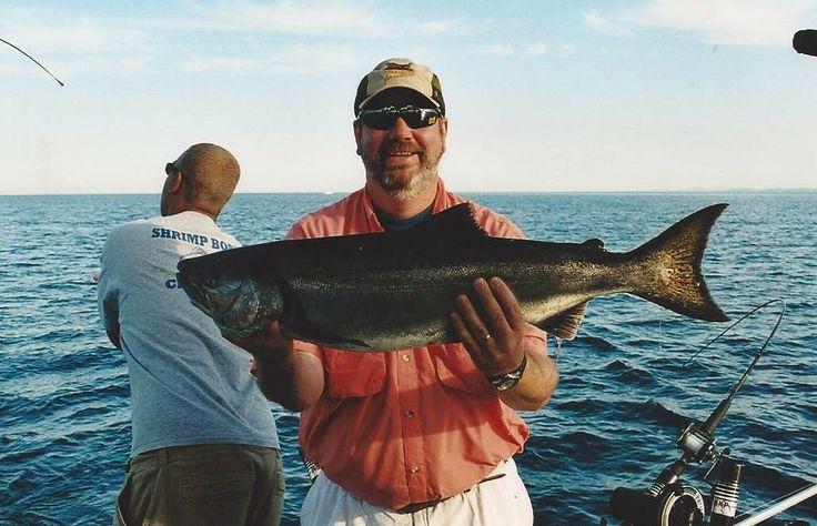 Lake michigan salmon aug 2005 michigan fishing our for Lake michigan salmon fishing