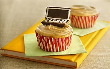 School Days Applesauce Cupcakes | Food...Something sweet | Pinterest