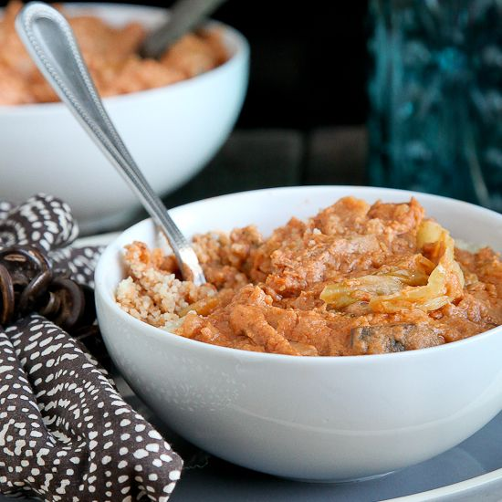 Interesting.. Domoda: African Peanut Stew