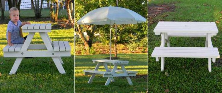 Kids Yard Furniture : Kids Outdoor Furniture  Kids Wooden Tables  Kids Wooden Table And ...