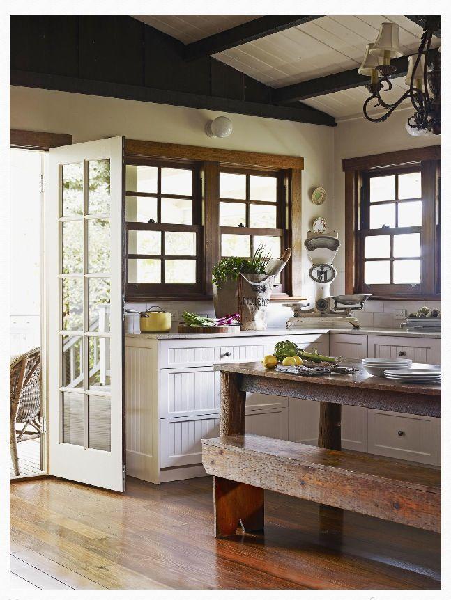 Farmhouse Style Kitchen Home Reno Ideas Pinterest