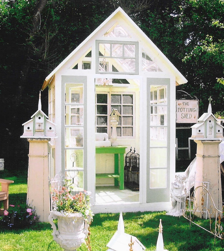 Garden cottage garden sheds coops etc pinterest - Cottage garden shed pictures ...