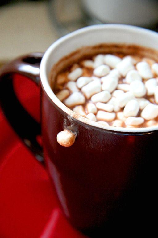 Creamy Italian Hot Cocoa {Cioccolata Calda}   Holidayz   Pinterest